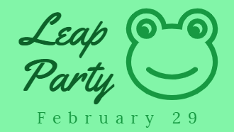 Leap Party - February 29